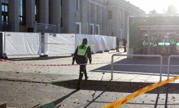 Prie Kauno traukinių stoties paliktas lagaminas ant kojų sukėlė gelbėjimo tarnybas