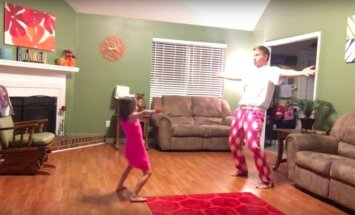 Tėčio ir dukters šokis