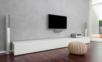 Kaip televizorių pritvirtinti prie sienos?