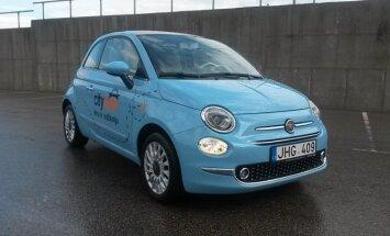 CityBee parką papildė naujais Fiat