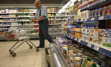 Maisto produktai Rusijos parduotuvėse