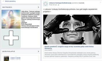 """Apsimetėliai vyskupai """"Facebook"""": dek pragare, šunie"""