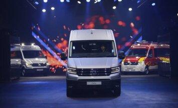 Volkswagen Crafter pristatymas