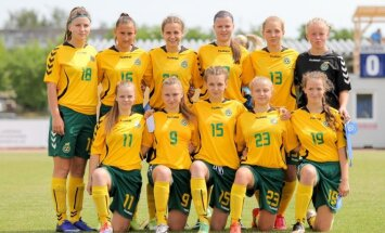 Lietuvos jaunių merginų (U-17) futbolo rintkinė.