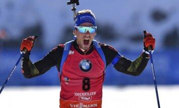 Simonas Schemppas, pasaulio biatlono čempionato vyrų 15 km starto nugalėtojas