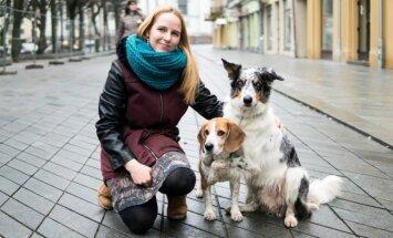 Gabrielė ir jos šunys
