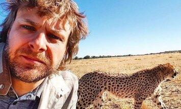 B. Vanagas lankėsi Afrikoje