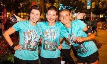 Šeštadienio naktį šimtai bėgančių moterų užvaldė Vilnių