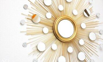Pasidaryk pats: veidrodis – saulė