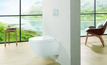 Šiuolaikiškas unitazas – nepriekaištingai vonios kambario švarai