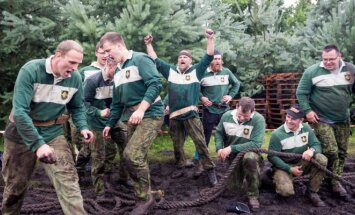 Krašto apsaugos savanorių pajėgų žaidynėse dominavo aukštaičiai