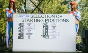 Startinės Top-10 pozicijos