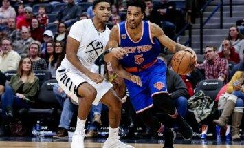 NBA, Denverio Nuggets - Niujorko Knicks