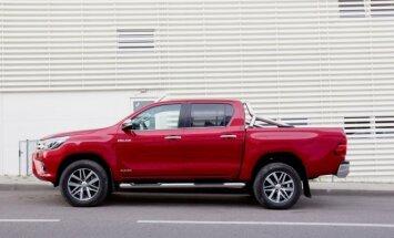Naujasis Toyota Hilux patobulėjo saugumo srityje