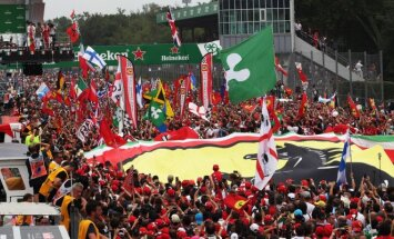 Ferrari komandos sirgaliai