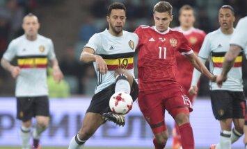 Kontrolinės futbolo rungtynės: Rusija – Belgija