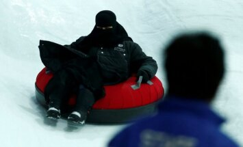Žiemos pramogos Saudo Arabijoje