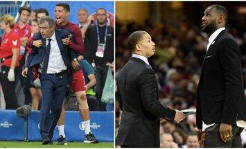 Sporto žvaigždės – ir trenerių amplua (AP ir Reuters nuotr.)