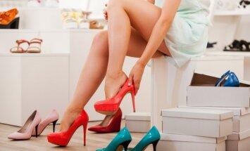 Į ką atkreipti dėmesį renkantis batus