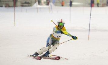 Kalnų slidinėjimo varžybos Druskininkuose
