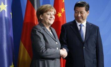 Angela Merkel ir Xi Jinpingas