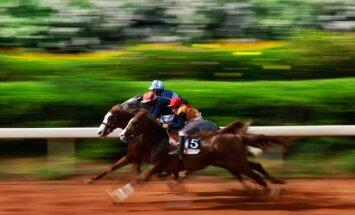 Žirgų lenktynės (asociatyvi nuotr.)