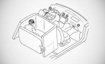 Ford patentavo naują saugos pagalvių sistemą