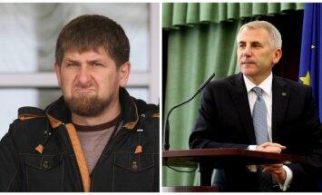 Ramzanas Kadyrovas, Vygaudas Ušackas