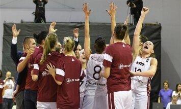 Latvijos krepšininkės