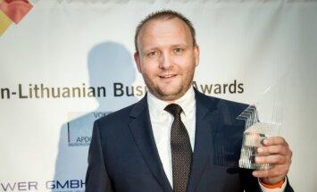 Winner Raimundas Slavinskas, Business Developement Manager AEDILIS