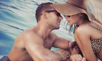 Vasarą romantikos ir karštų jausmų tikrai netrūksta.