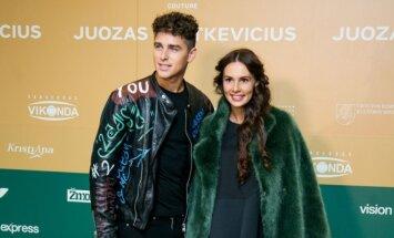 Donatas Montvydas su žmona