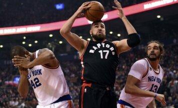 NBA, Toronto Raptors, Jonas Valančiūnas