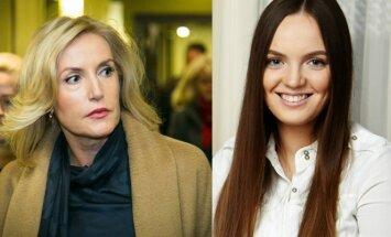 Živilė Pinskuvienė ir Daniela Pinskutė