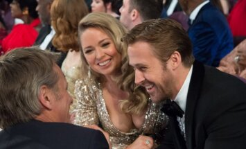 Ryanas Goslingas su seserimi