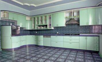 """Virtuvės planavimas: baldai vienoje linijoje <strong><span style=""""color: #ff0000;""""><sup>3 pavyzdžiai</sup></span></strong>"""