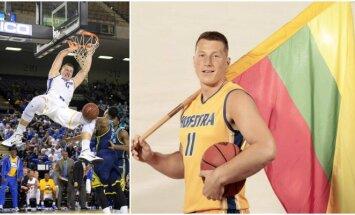 Rokas Gustys NCAA pirmenybės pradės jau trečiąjį sezoną (Facebook ir Vida Press nuotr.)