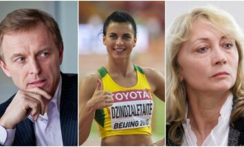 Eimantas Skrabulis, Dovilė Dzindzaletaitė ir Nijolė Medvedeva
