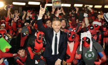 Filmo Deadpool premjera, Ryanas Reynoldsas