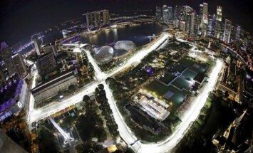 Singapūro F-1 Marina Bay trasa