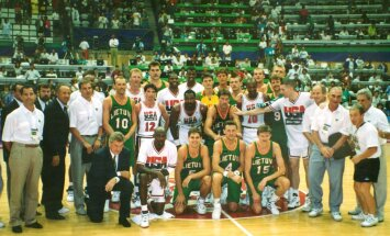 1992-ųjų Lietuvos vyrų krepšinio rinktinė