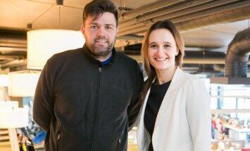 Peter Heine Nielsen ir Viktorija Čmilytė-Nielsen