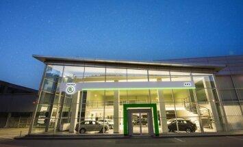 Atnaujintas Škoda salonas Geležinio Vilko gatvėje
