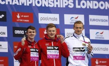 Giedrius Titenis iškovojo Europos čempionato bronzą