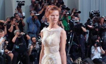 Suknelė, atspausdinta trimačiu 3D spausdintuvu