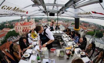 Dangaus restoranas Dinner in the Sky