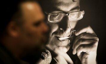 Dainiaus Dirgėlos fotografijų paroda Poetų portretai
