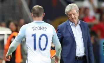 Roy Hodgsonas ir Wayne'as Rooney