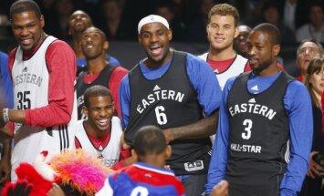 NBA superžvaigždės