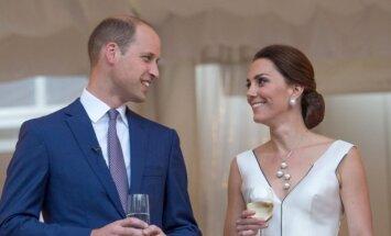 Kate Middleton ir princas Williamas Varšuvoje
